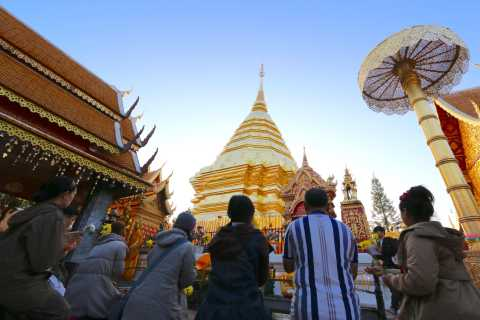 From Chiang Mai: Full-Day Doi Suthep Trekking Tour