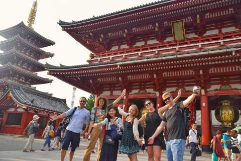 Tokyo Highlights Private Half-Day Walking Tour