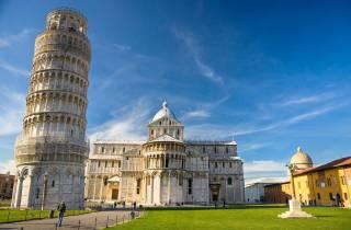 Von Montecatini: Pisa Tour und Schiefer Turm