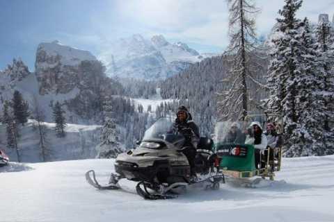 Bolzano: Snowmobile, Sledding & The Great Dolomites Road