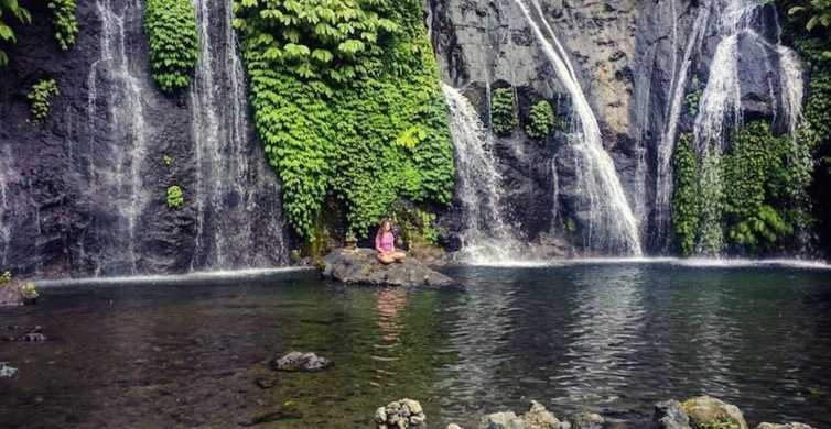Banyumala Waterfall Trek, Bedugul and Lake Beratan Tour