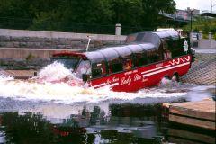Ottawa: Excursão Guiada Bilíngue de 1 Hora em Ônibus Anfíbio