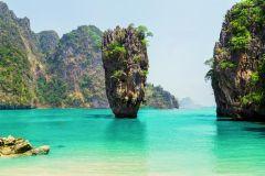 Phuket: Excursão à Ilha James Bond em Barco Tradicional