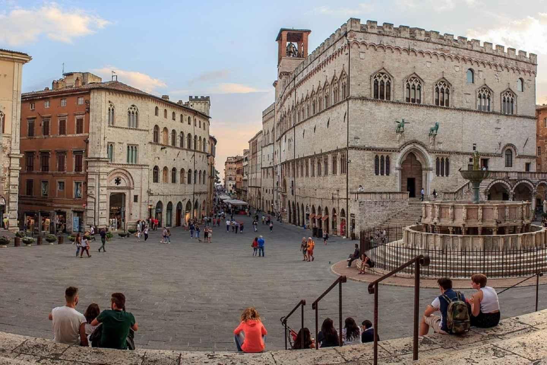 2-stündiger kleiner Stadtrundgang durch Perugia