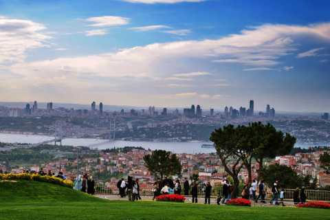 Bosphorus Cruise and Two Continents Tour with Local Guide