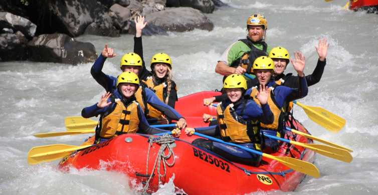 From Zurich: Rafting in Interlaken w/ Return Transfer