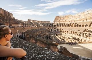 Rom: Kolosseum, Forum Romanum und Palatin ohne Anstehen
