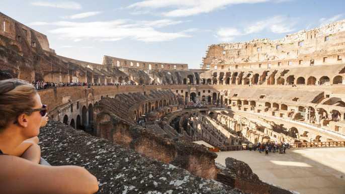 Roma: entradas prioritarias Coliseo, Foro Romano, Palatino