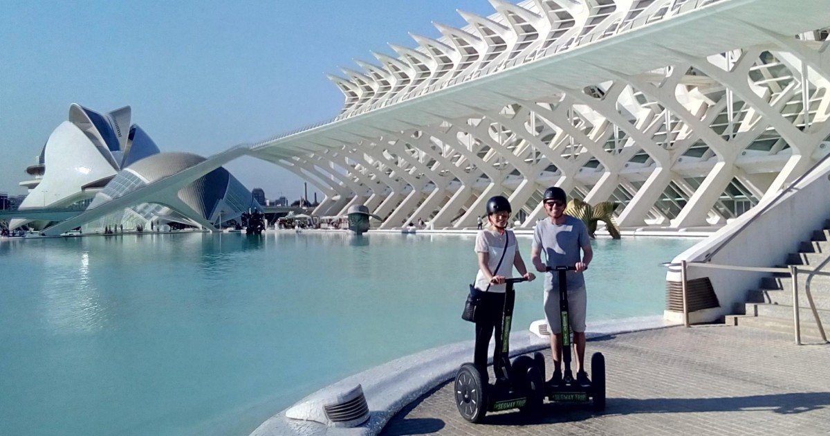 Valencia City of Arts and Sciences Segway Tour