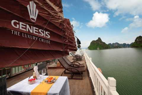 Halong Luxury Full Day Trip – Limousine Van & Expressway
