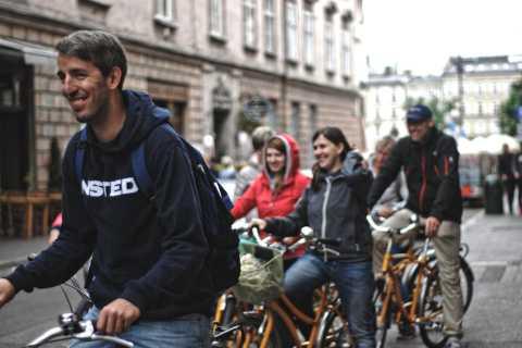 Krakow: Bike Tour of the Old Town, Kazimierz, and the Ghetto