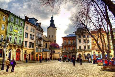 Lviv: 3-Hour Private Walking Beer Tour