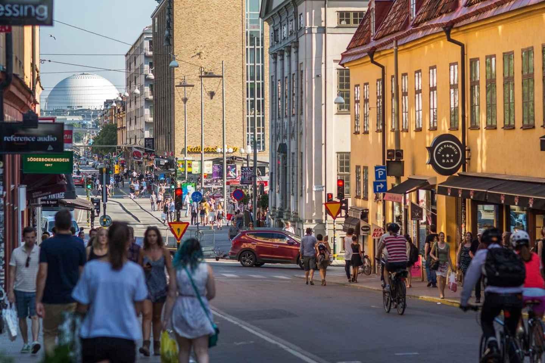 Stockholm: E-Bike-Tour im Viertel SoFo