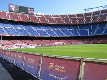 FC Barcelona Museum Camp Nou 3-stündige Tour mit Tapas
