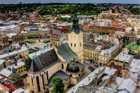 Lviv: 3-Hour Between the Sky and Earth Private Walking Tour