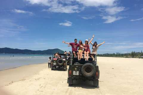 Retro Jeep Transfer from Hoi An to Hue via the Hai Van Pass