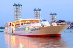 Bangkok: Cruzeiro c/ Jantar a bordo do Chao Phraya Princess