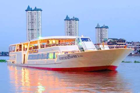 Bangkok: 2-Hour Dinner Cruise on the Chao Phraya Princess