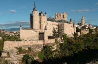 Segovia & Toledo: Alcazar, Kathedrale & Mittagessen-Option