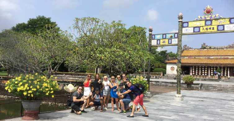 Hue: Private Stadt-Tour mit Thien Mu, Drachenboot und Kunst