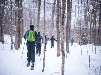 Jacques-Cartier-Nationalpark: Skischuhwandern