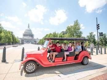 Washington D.C.: 2-stündige National Mall-Tour im E-Auto
