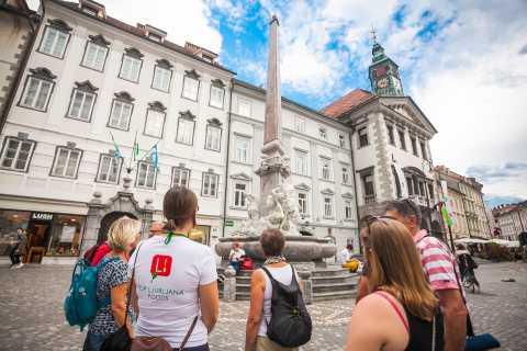 Tour de 3,5 horas de comida y vino por Liubliana