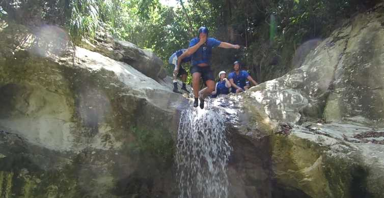 27 Waterfalls: Zip 'n Splash Adventure with Horse Ride