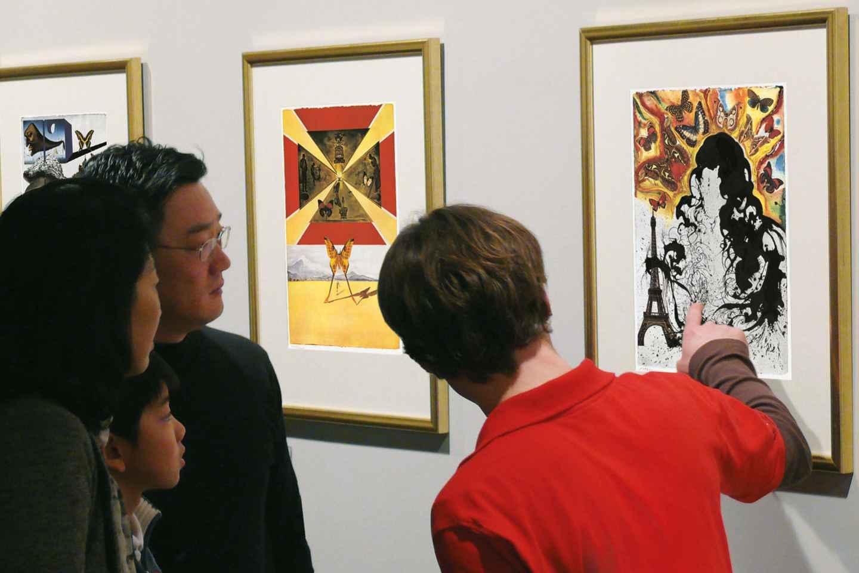 Berlin: Dalí Ausstellung Ticket & Führung