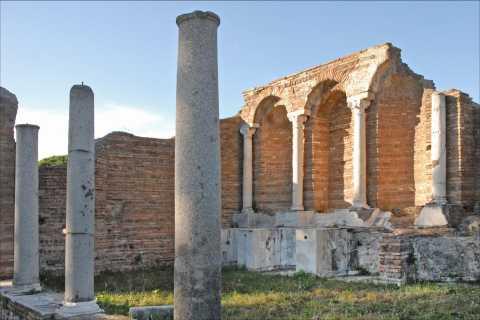 Visite privée à pied d'Ostia Antica