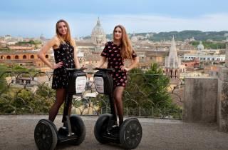 Rom: Stadtzentrum & Villa Borghese per Segway
