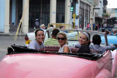 Havana: 2-Hour Classic American Car Tour with a Cocktail