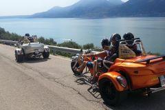 Lago de Garda: Excursão guiada por trike de 2 horas