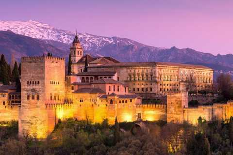 Private Alhambra Tour From Malaga & Surrounds
