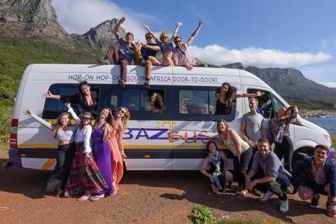 Ônibus Hop-On Hop-Off entre a Cidade do Cabo e Joanesburgo