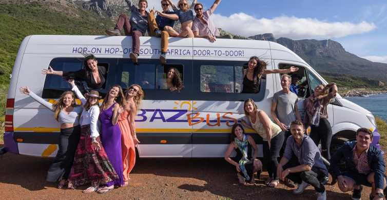 Hop-on Hop-off Bus between Cape Town & Johannesburg