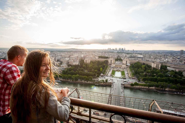 Eiffelturm: 2. Ebene oder Spitze - direkter Zugang