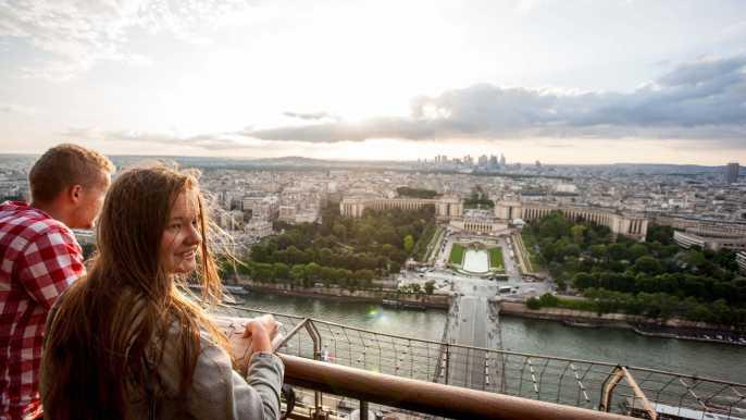 Torre Eiffel: acceso directo al segundo piso o a la cima