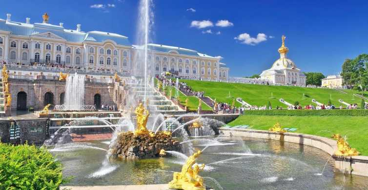 Peterhof Palace and Park Guided Tour from St. Petersburg