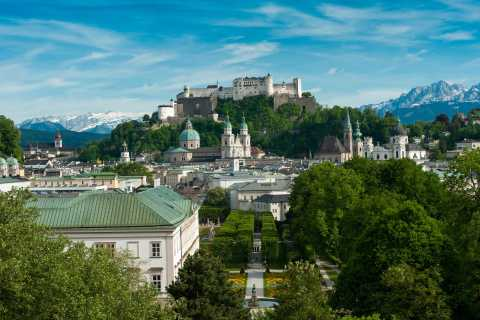 Salzburg: Private City Tour by Car