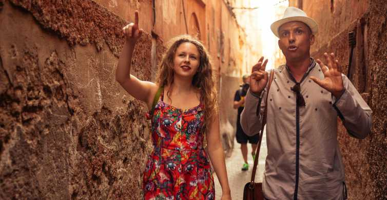 Marrakesh hoogtepunten en verborgen pareltjes privétour