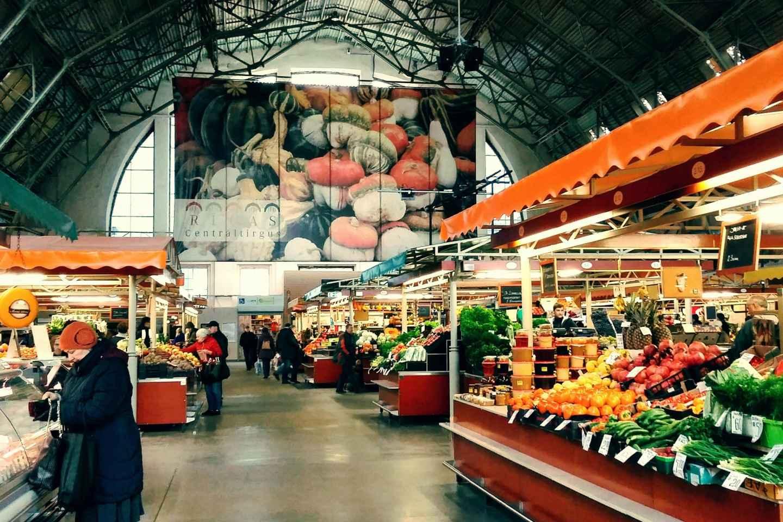 Riga: Food-Tour auf dem Zentralmarkt