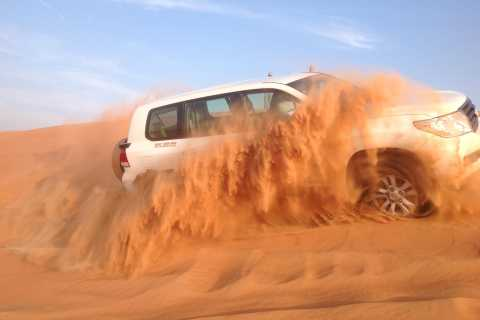 Dubai: avventura al mattino tra le dune con sandboarding