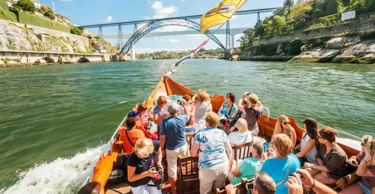 Porto: crociera dei 6 Ponti sul fiume Douro