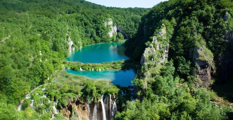Vanuit Zagreb: nationaal park Plitvice en Rastoke