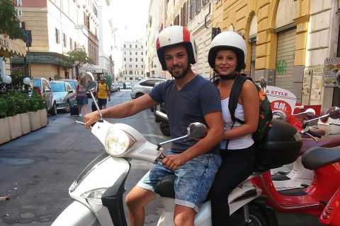 Rome: New Liberty 125cc Scooter Rental (1-7 Days)