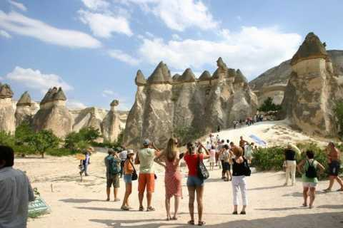 Göreme: Small Group Full-Day Cappadocia Red Tour
