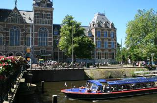 Amsterdam: Kombi-Ticket Kanalrundfahrt und Rijksmuseum