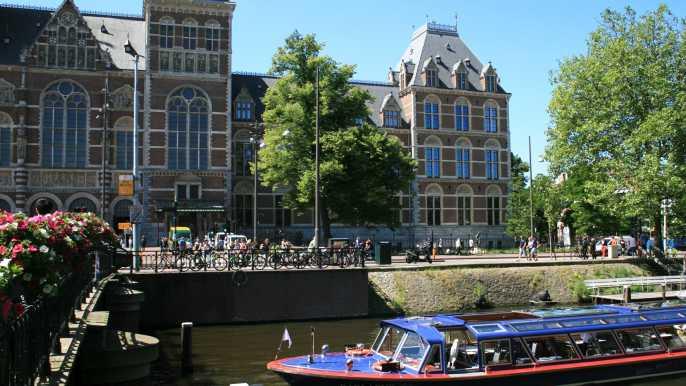 Ticket combinado: crucero por los canales y Rijksmuseum