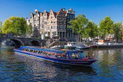 Passeio de Barco pelos Canais de Amsterdã